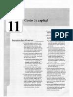 Capitulo 11- Costo de Capital