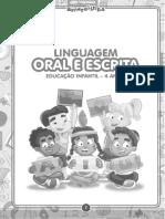 Coleção Amarelinha - 4 Anos - Oral é Escrita
