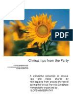 Clinical Tips From the Party