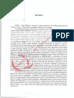 Referatul Ordonanţei, Întocmit de Procurorul Mihaela Iorga Moraru, Prin Care S-A Dispus Urmărirea Penală Împotriva Violetei Morjan, Managerul de Caz de La DGASPC Mehedinți