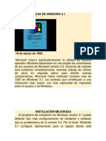 Caracteristicas de Windows 3
