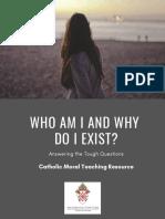 Catholic Moral Teaching Flyer - Long Version