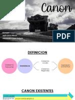 Canon Derecho Financiero