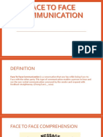 FACE TO FACE COMMUNICATION PPT.pptx