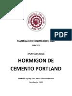 Mdciv3 Cap 3 Hormigon de Cemento Portland