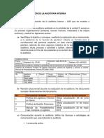 Evidencia Actividad 3 Taller Realización de La Auditoría Interna