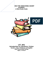 LIT 201 Guide to Short Story Elements