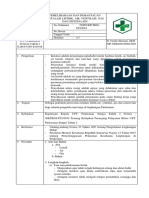Sop 8.5.1 Ep. 2 Pemantauan Instalasi Listrik, Kualitas Air, Ventilasi, Gas Dan Sistem Lain