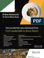 18 New Best Restaurants To Eat In Boca Raton