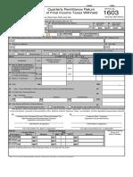 Fbt Form 1603
