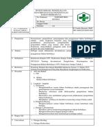 Sop 8.5.2 Ep. 1 Inventarisasi, Pengelolaan, Penyimpanan Dan Penggunaan Bahan Berbahaya