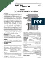 SP500 Posicionador Eletro-Pneumático Inteligente 3-Technical Information
