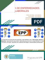 EPP y Tabla de Enfermedades Dec. 1477 de 2014