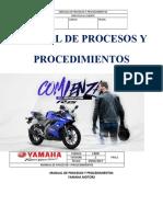 Manual de Procesos y Procedimientos Estefania Yamaha