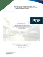 Analisis Financiero de Los Informes Contables de La Empresa Agroz s