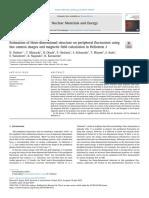 Estimación de la estructura tridimensional de la fluctuación periférica utilizando imágenes de cámara rápidas y cálculo de campo magnético en Heliotron J