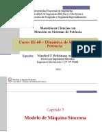 EE60 - Clase 4 - Modelo de Máquina Síncrona - 2019-I.pdf