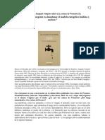 Joaquim Sempere - La Tarea Hoy Más Urgente Es Abandonar El Modelo Energético Fosilista y Nuclear