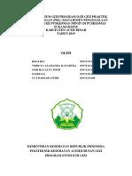 contoh laporan pkl puskesmas