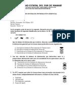 Examen de s.i.g 8vo i Parcial A