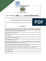 Resolución No. 03303 Del 151010 COEST