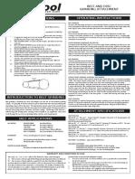 Multitool Manual