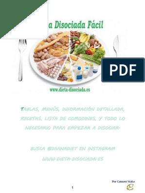 Facebook dieta disociada 10 dias