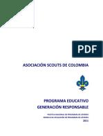 Politica DNPJ Generación Responsable 2012