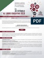 Estímulo Al Logro Educativo Naucalpan 2019 Segunda Convocatoria