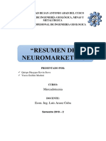 Resumen Del Trabajo de Neuromarketing