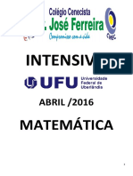 Intensivo Ufu 2016 Matematica