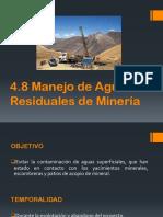Manejo de Aguas Residuales de Mineria
