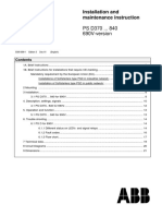 Manual Soft Starter PSD370 5309699-1