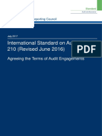 ISA (UK) 210 Revised June 2016 Updated July 2017