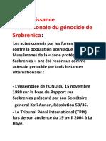 Génocide en Bosnie-reconu