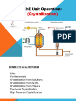 Unit Ops Crystallization