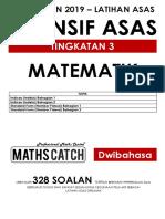 [2019-] Modul Latihan Matematik Tingkatan 3 (PT3)