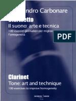 Alessandro Carbonare El Sonido Arte y Tecnica