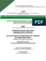 Formato 4-Plan Del Operativo de Control