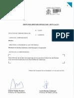 Petició de compareixença de Josep Borrell
