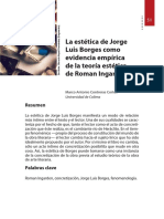 Marco Antonio Contreras - La estètica de Jorge Luis Borges como evidencia emp``irica
