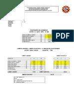 Hoja de Excel Para Analisis Granulometrico