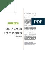 Tendencias en Redes Sociales Eje 4