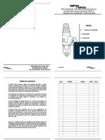Filtro-regulador de Alta Eficiencia Para Ar Comprimido Spirax-Monnier MPC2-Installation Maintenance Manual