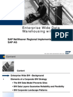 Enterprise Wide Data Warehousing With SAP BW