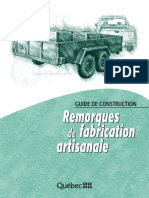 Remorques Fabrication Artisanale