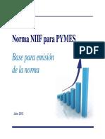 Norma NIIF para PYMES