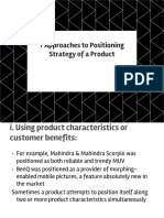 7 Approaches to Positioning Strategy of a Product, Perceptual Mapping.pptx