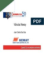 presentación VAlvulas NEWAY