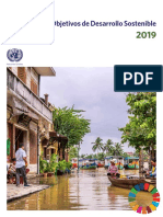 The Sustainable Development Goals Report 2019 Spanish